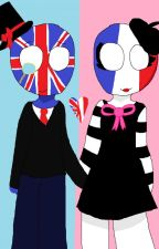 Mon Amour | France x UK | CountryHumans Fanfiction by -Roxanna-