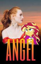 Angel » sunset shimmer by sunny_heart1