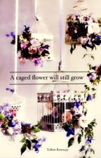 A caged flower will still grow by YellowRoses453