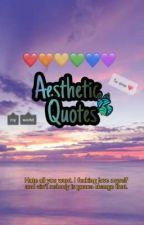 Asthethics Quotes💙🍭{©}✔ by 4inous_co
