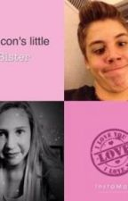 Magcon's little sister by cityb1
