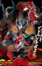 Kamen rider Ryuki x Castle Town Dandelion Castle Town's Mirror Battle World by Doctmar123