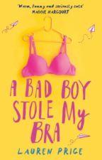 A Bad Boy Stole My Bra  by copyrighttingz