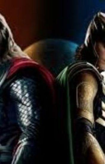 I'm in love with a god (Loki x Thor x Reader) - James/Maggie/Chiaki
