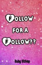 👑 follow for follow 👑 by rubybishbosh