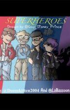 Sander sides- Superheroes  by Doomkitten2004