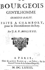 Le bourgeois gentilhomme by Histoireclaire