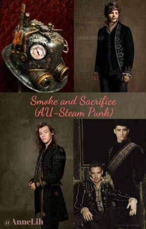 Smoke and Sacrifice (AU-Steam Punk L.S.) by AnneLih
