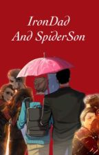 IronDad And SpiderSon by marvell_15