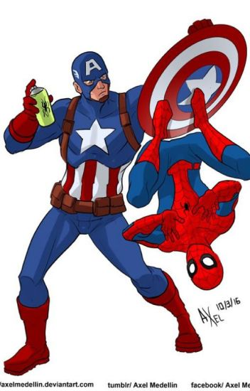 Captain Grandpa (A Spider-Man and Avengers Fan Fiction)