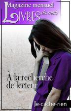 Magazine mensuel: Livres du Mois by Je-cache-rien
