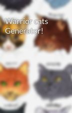 Warrior cats Generator! by kittenzarecool