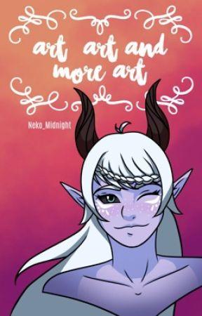 Art, Art and More Art | IRL | Leslie by Neko_Midnight