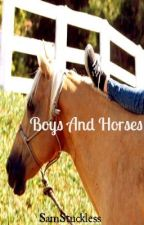 Boys and horses by SamStuckless
