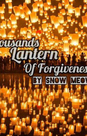 Thousands Lantern Of Forgiveness by snowmeowmiau