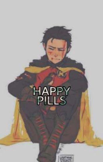 Happy Pills  Yandere Brother Damian Wayne x Reader