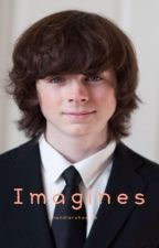 Carl Grimes / Chandler Riggs Imagines by chandlershoodie