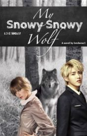 My Snowy Snowy Wolf by Letchstar1