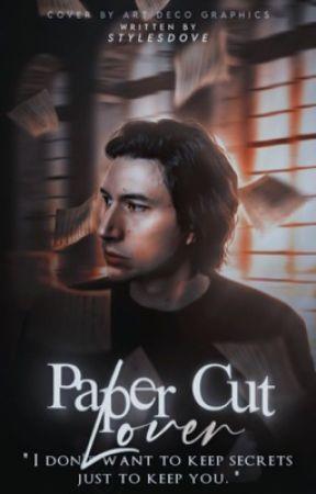 Paper Cut Lover   Kylo Ren by stylesdove