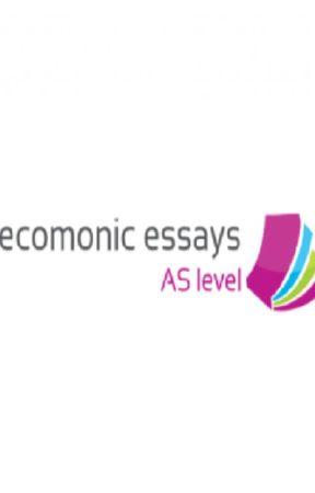 AS level economic essays by NeliferLee