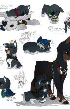 Black butler dogs x reader! by Charlottie123lol