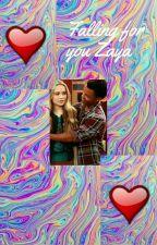 falling for you Zaya  by rucasandzayakingdom