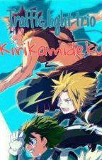Kirikamideku  Traffic light trio  My hero academia  by PinkGarbage