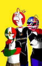 mexico  y los 5 contry's :v by Karl_Zeik