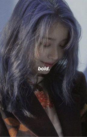 bold | yoongi m. [shy book 2] by hopetomykook