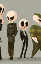 Skeleton Characters x Reader by NUR-SYU