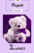 That Purple Teddy Bear by Caylamarie8888