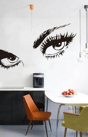 Jasa desain Interior Dan Wallpaper Rumah Jual Wall Sticker Tuban