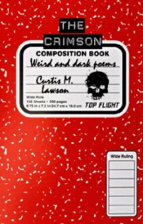 The Crimson Composition Book by curtismlawson