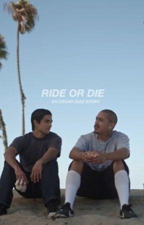 """RIDE OR DIE (Oscar """"Spooky"""" Diaz) by pacifyjas"""