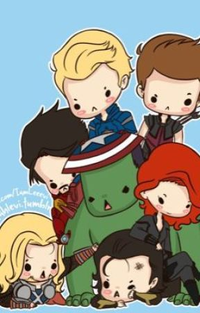 Surviving Mini Avengers by Elyse_Marie892