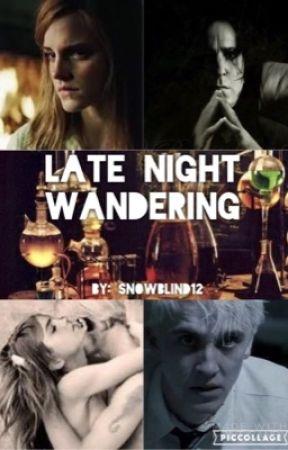 Late Night Wandering by SnowBlindLissaDream