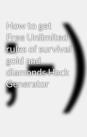 How to get Free Unlimited rules of survival gold and