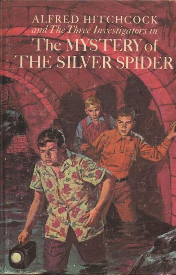 THE MYSTERY OF THE SILVER SIPIDER