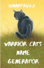 Name Generator : Warriors Edition! by LunarPawzz