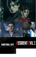 Resident Evil 2 x Detroit: Become Human x FNAF by TheAwesomePhin