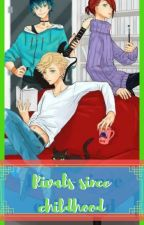 Competition since childhood (Adrien vs Luka vs Nathaniel x reader) by slytherinfollower