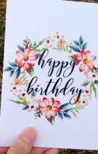 happy birthday to you  by AlyaNurFadila