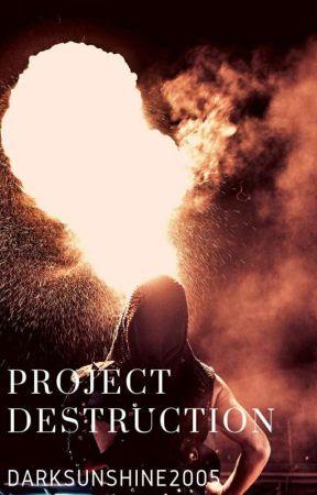 Project Destruction by Darksunshine2005