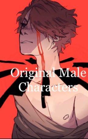Original Male Characters XO by ReDLiPsXOX