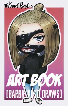 ART BOOK [Barbie also draws] by KanekiBarbie