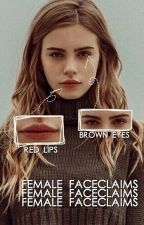 Female Faceclaims  by -nerdychic