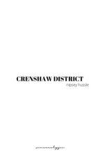 CRENSHAW DISTRICT by brunzei