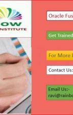 Oracle Fusion HCM Online Training Oracle Cloud HCM Online Training by shivanirainbow