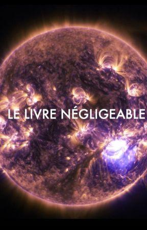 Le livre négligeable by Eviliou13