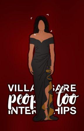 #VillainsArePeopleToo Internships by OfficialVAPTTeam